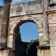 Entrance to the Ruins - Jerash, Jordan