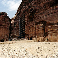 Royal Tombs - Petra, Jordan