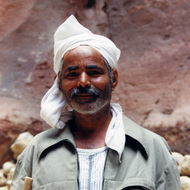 Indian Worker - Petra, Jordan