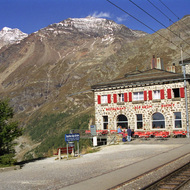 Bernina Express - Alp Glum, Switzerland