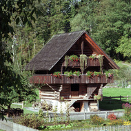 Chalet at Ballenberg Open Air Museum - Brienz, Switzerland