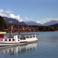 Tour Boat on Brienzersee - Brienz, Switzerland
