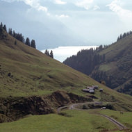 Brienzersee from the Rothorn Cog Railway - Brienz, Switzerland