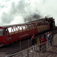 Rothorn Cog Railway at Summit - Brienz, Switzerland