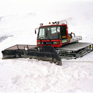 Snow Plow on Aletsch Glacier - Jungfraujoch, Switzerland