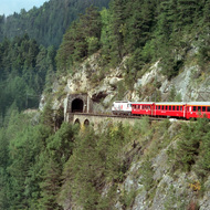 The Train to Zermatt, Switzerland