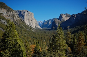 Thumbnail image of Yosemite tunnel view on a clear day.