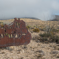 Butterfiled Overland Mail Stage line sign.