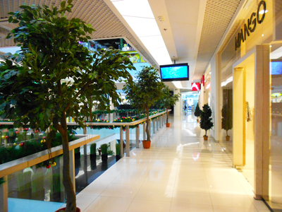 Thumbnail image ofShopping center. Second floor.