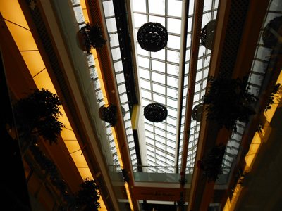 Thumbnail image of Shopping center. Glass roof.