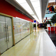 Shopping center. First floor.