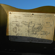 Scheme for the care of anti-aircraft guns.