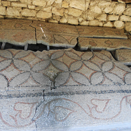 Ancient mosaic.