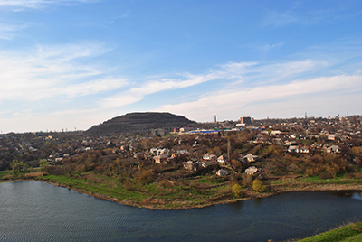 Thumbnail image ofPanorama on the outskirts of the city.