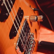 Guitar strings.