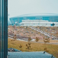 View of the Donbass Arena.
