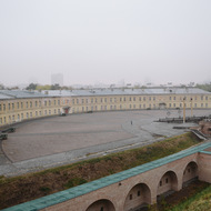 General view of the Kyiv Fortress.