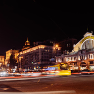 Evening Khreshchatyk.