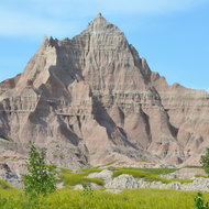 Beautiful views are everywhere in the Badlands.