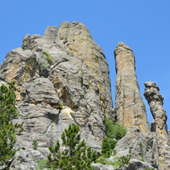 Some of the needles/pinnacles.