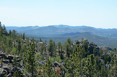 Thumbnail image ofA view of the Black Hills from the Needles Highway