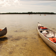 Paddling in the 10,000 islands part of Everglades National Park.