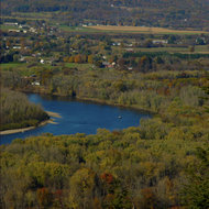Connecticut River in Western Massachusetts