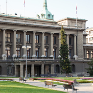 New Palace, Office of the Serbian President.