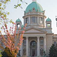 National Assembly of Serbia (Narodna Skupstina).