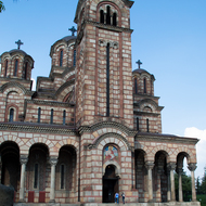 St. Mark Church in Belgrade, Serbia.