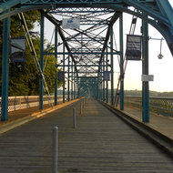 Walnut Street Bridge, Chattanooga, Tennessee.