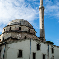 Isak Çelebi Mosque in Bitola, Macedonia.