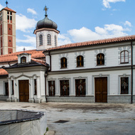 Holy Virgin Mary Church in Bitola, Macedonia.