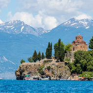 Church of St. John, in Ohrid, Macedonia.