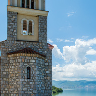 Bell Tower at St. Naum Monastery.