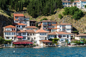 Thumbnail image of Lower Ohrid, from the water.