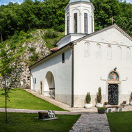 Church in the Holy Trinity Monastery in Pljevlja.