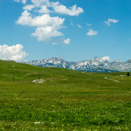 High plateau and Durmitor mountains.