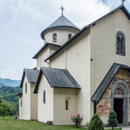 Church at the Moraca Monastery.