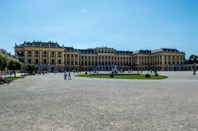 Thumbnail image ofSchönbrunn Palace front.