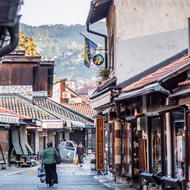 Early morning in the Bazaar in Old Sarajevo.