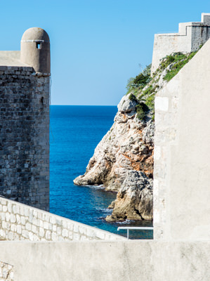 Thumbnail image of View from the walls of Dubrovnik.