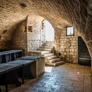 Soldiers' Mess Hall in Lovrijenac fortress.