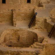 Kiva at Cliff Palace.