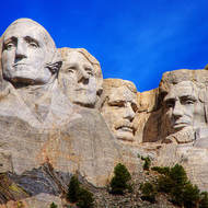 Mount Rushmore National Memorial.
