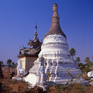 Ancient pagoda in Bagan.