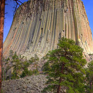 Devils Tower National Monument.