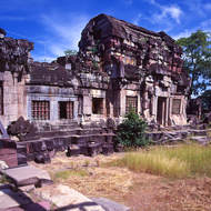 Ancient temple at Phimai.