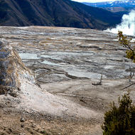 Mammoth Hot Springs terraces.