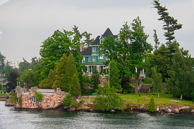 Thumbnail image ofRiverfront properties on the St. Lawrence river.